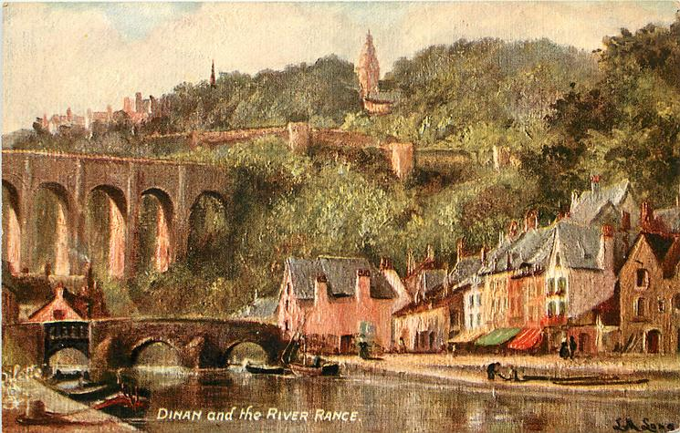 DINAN AND THE RIVER RANCE