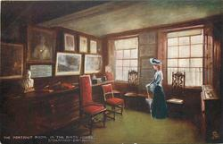 THE PORTRAIT ROOM, IN THE BIRTH HOUSE