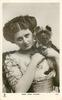MISS JEAN AYLWIN  with yorkshire terrier