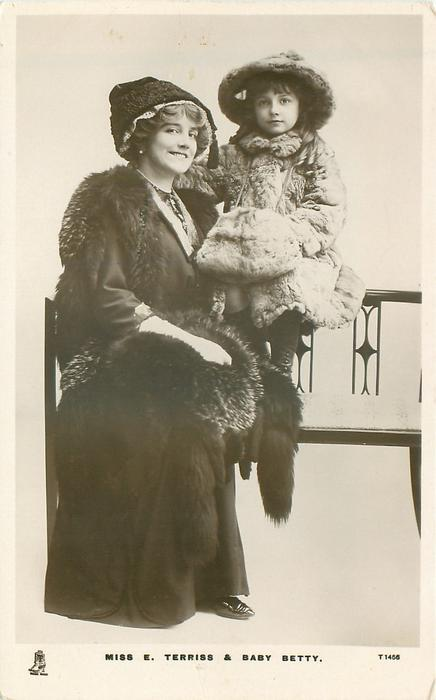 MISS E. TERRISS & BABY BETTY.
