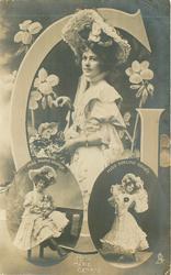 G, MISS MARIE GEORGE, MISS ADELINE GENEE