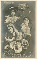 POPPY, 3 insets, MISS GABRIELLE RAY, MISS MARY FRASER, MISS PHYLLIS DARE