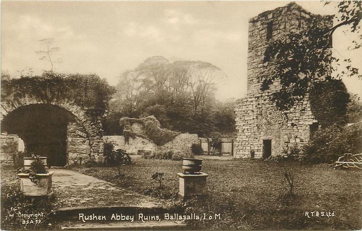 RUSHEN ABBEY RUINS