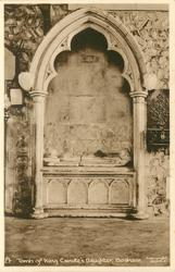TOMB OF KING CANUTE'S DAUGHTER