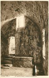 ST. GOVAN'S CHAPEL, INTERIOR