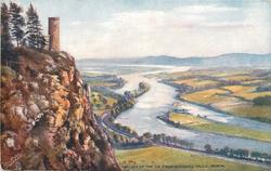 VALLEY OF THE TAY FROM KINNOULL HILLS