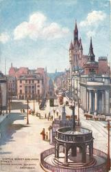 CASTLE STREET AND UNION STREET (SHOWING MUNICIPAL BUILDINGS)