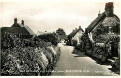 OLD COTTAGES AND CHURCH HALL