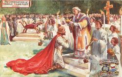 THE CORONATION OF HAROLD HAREFOOT,1036