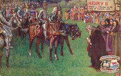 HENRY II GIVES A CHARTER TO THE CITY OF OXFORD,1160