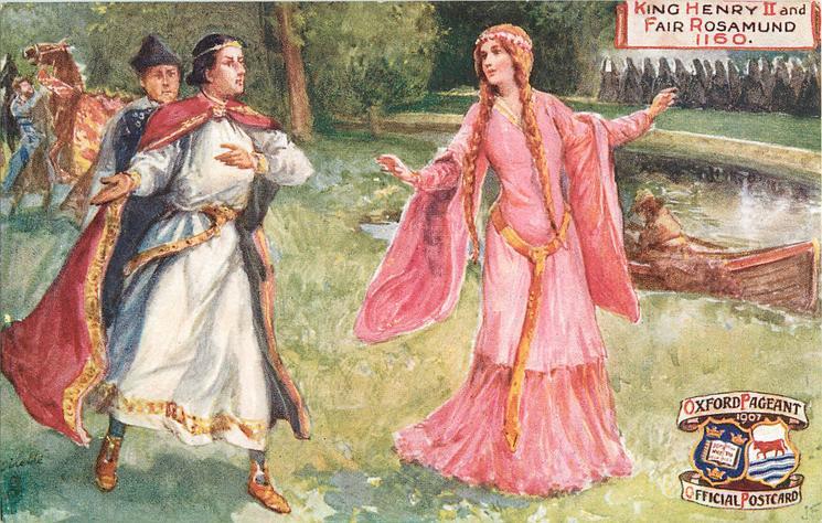 KING HENRY II AND FAIR ROSAMUND, 1160