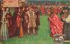 HENRY 8TH, AND HIS QUEEN CATHERINE OF ARAGON RECEIVED BY CARDINAL WOLSEY AT OXFORD