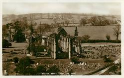 BOLTON ABBEY FROM THE PARK