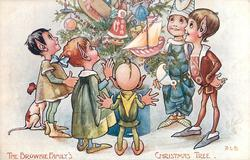 THE BROWNIE FAMILY'S CHRISTMAS TREE