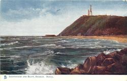 LIGHTHOUSE AND BLUFF