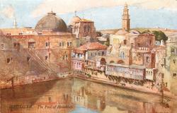 JERUSALEM. - THE POOL OF HEZEKIAH
