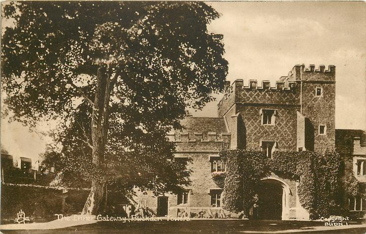 THE INNER GATEWAY, BUCKDEN TOWERS
