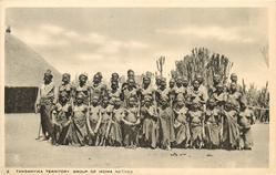 GROUP OF IKOMA NATIVES