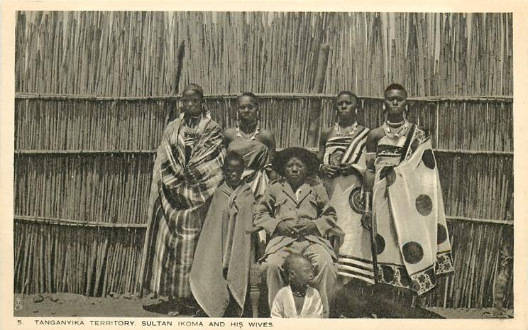 SULTAN IKOMA AND HIS WIVES
