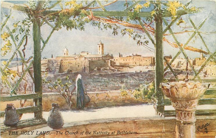 THE CHURCH OF THE NATIVITY AT BETHLEHEM
