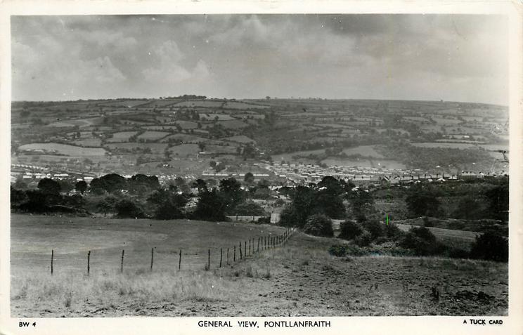 GENERAL VIEW, PONTLLANFRAITH