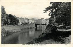 RIVER PARRETT AND BRIDGE