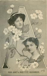 A, MISS JANET & MISS FYFE ALEXANDER