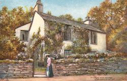 GRASMERE, DOVE COTTAGE (A RESIDENCE OF THE POET WORDSWORTH)
