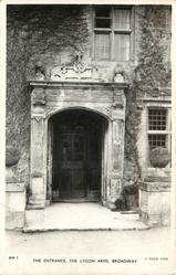 THE ENTRANCE, THE LYGON ARMS