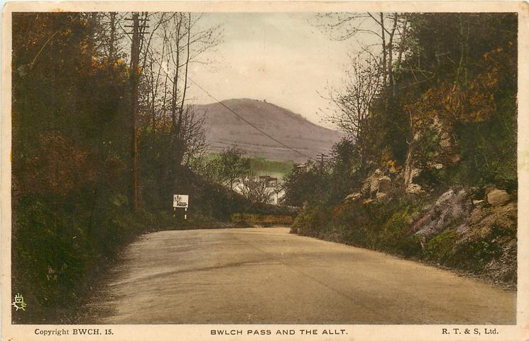 BWLCH PASS AND THE ALLT