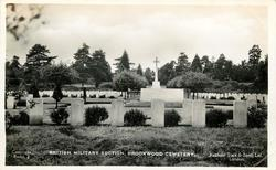 BRITISH MILITARY SECTION, BROOKWOOD CEMETERY