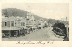 STIRLING TERRACE  shops left