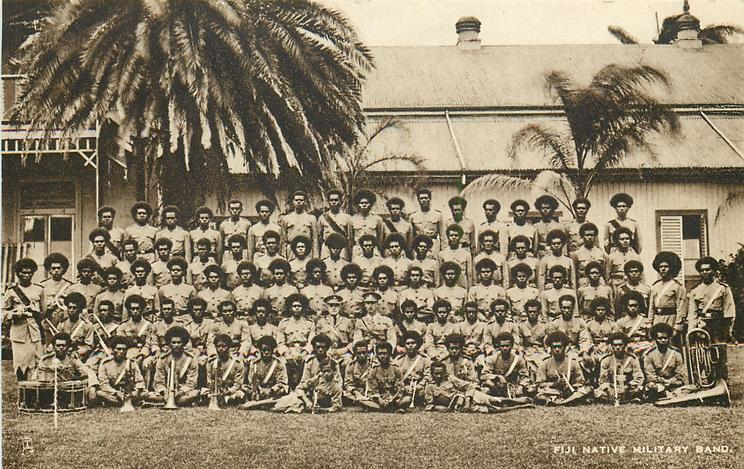 FIJI NATIVE MILITARY BAND