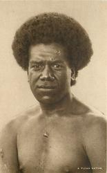 A FIJIAN NATIVE