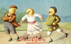 three chicks roller skate