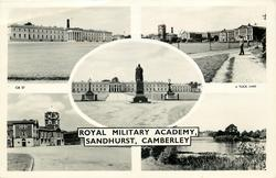 5 untitled insets ROYAL MILITARY ACADEMY, SANDHURST