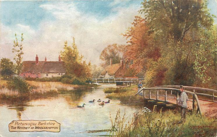 THE KENNET AT WOOLHAMPTON