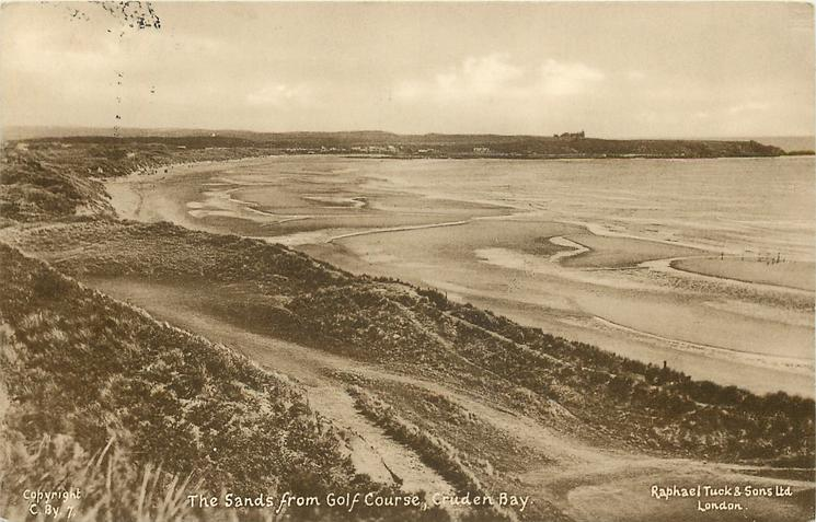 THE SANDS FROM GOLF COURSE