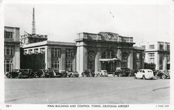MAIN BUILDINGS AND CONTROL TOWER, CROYDON AIRPORT