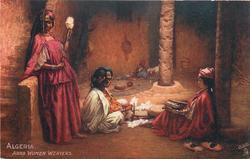 ARAB WOMAN WEAVERS