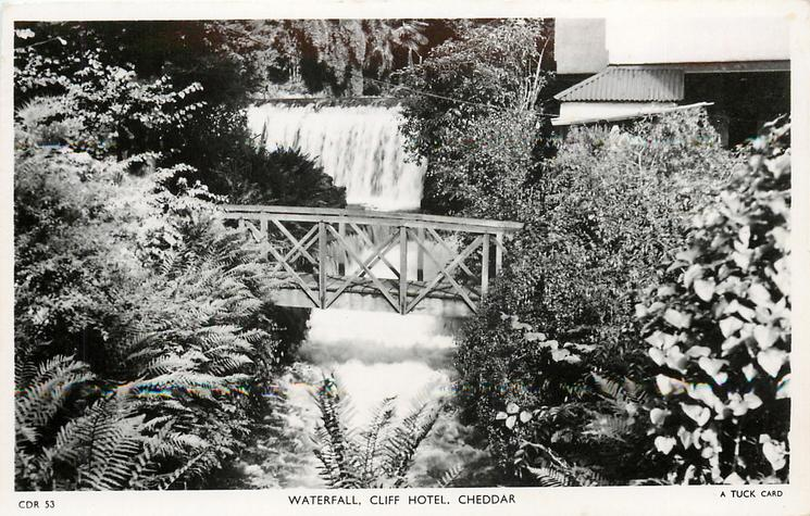 WATERFALL, CLIFF HOTEL