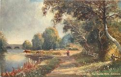 THE TOWING PATH, SONNING