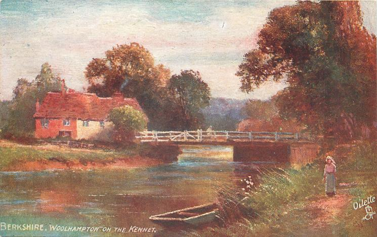 WOOLHAMPTON ON THE KENNET