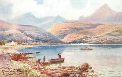 BRODICK BAY & GOAT FELL