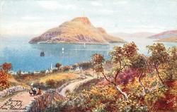HOLY ISLE FROM LAMLASH