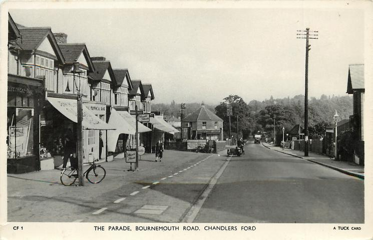 THE PARADE, BOURNEMOUTH ROAD