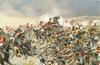 DIE SCHWEREN DRAGONER DER ENGLISH-DEUTSCHEN LEGION BEI GARZIA HERNANDEZ AM 23 JULI 1812