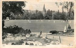 QUEENS PARK cricket