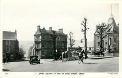 ST. JAMES SQUARE AT TOP OF KING STREET