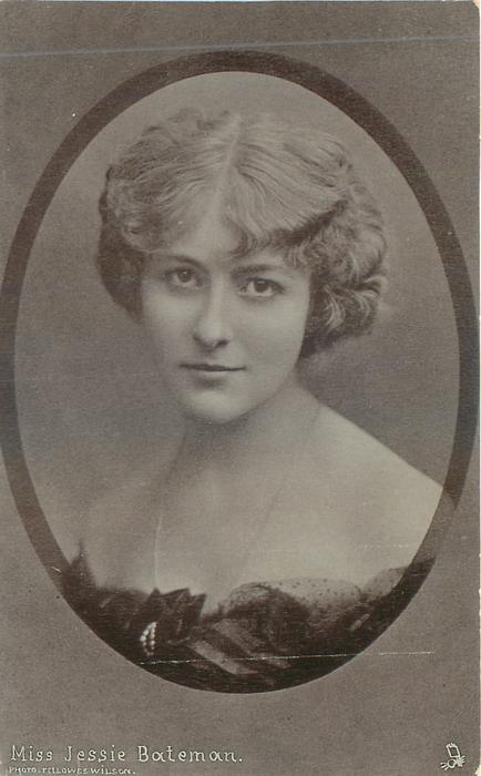 MISS JESSIE BATEMAN - TuckDB Postcards